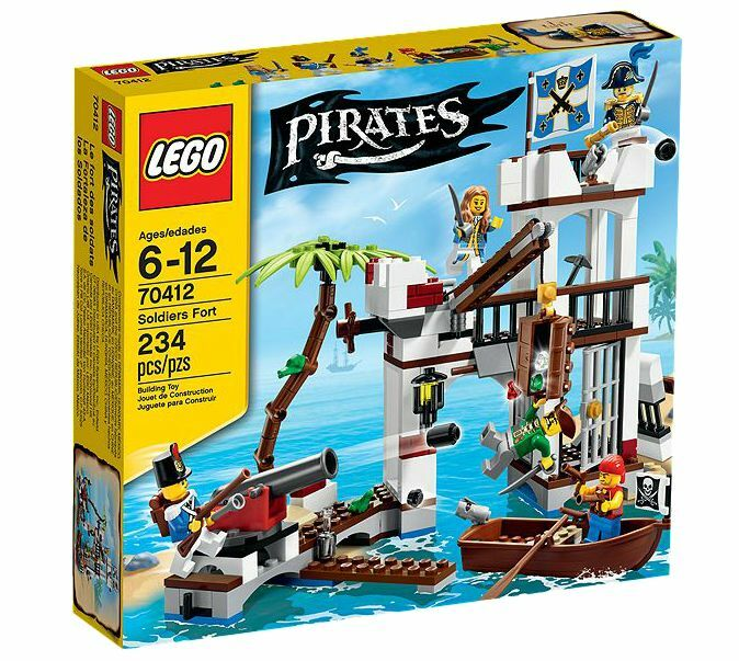LEGO® Pirates 70412 70412 70412 Soldaten-Fort NEU OVP_ Soldiers Fort NEW MISB NRFB 59f471