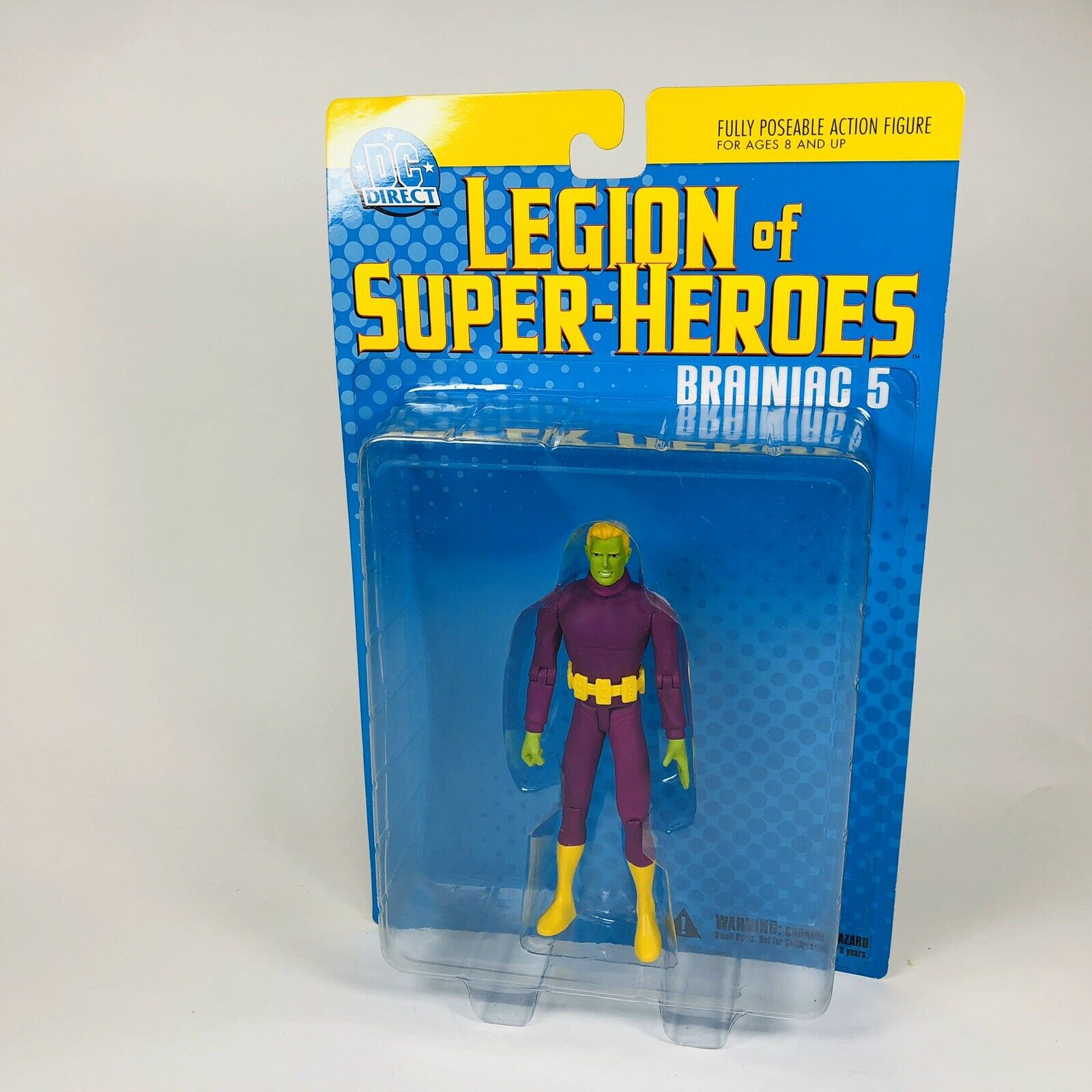DC DIRECT Collectibles Legion of Super Heroes Losh série invisible Kid Figure