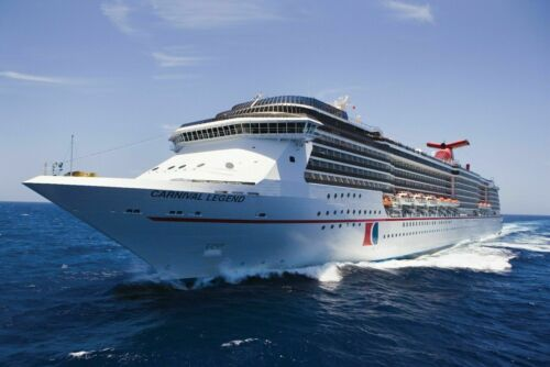 CARNIVAL CRUISE SHIP LEGEND 24X36 inch poster