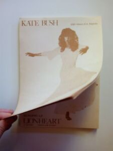 Kate-Bush-notebook-Ultrarare-Spanish-promotion-Few-copies-made