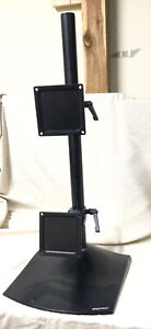 Ergotron-DS100-Dual-LCD-Display-Vertical-Desk-Stand-Supports-24-034-Display