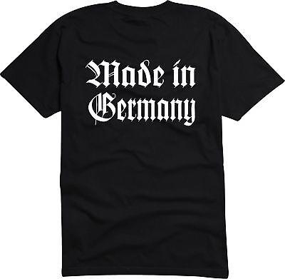OFFENBACH Herren T-Shirt Schwarz Altdeutsch mit Hessen Wappen S bis 3XL