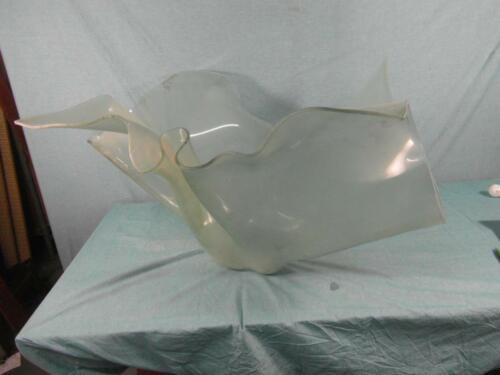 Bodenvase Riesig Glaskunst Glasschale Design Aquarium Dekoobjekt Unikat Kunst