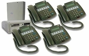 New Telephone System Switchboard Pbx Complete Plug And