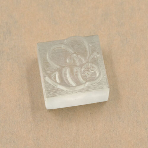 Seife Stempel Biene Schablone DIY Basteln Handarbeit Dekoration Durchsichtig Neu