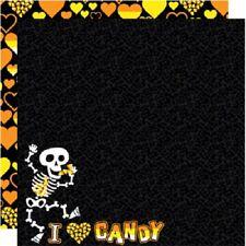 VLADIMIR E BITE Halloween 12 x 12 Scrapbook Paper 2 Sheets