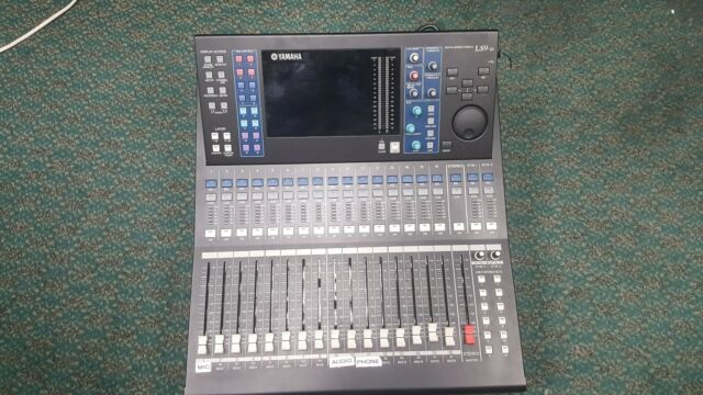 yamaha ls9 16 digital 32 channel mixing console mixer ebay. Black Bedroom Furniture Sets. Home Design Ideas