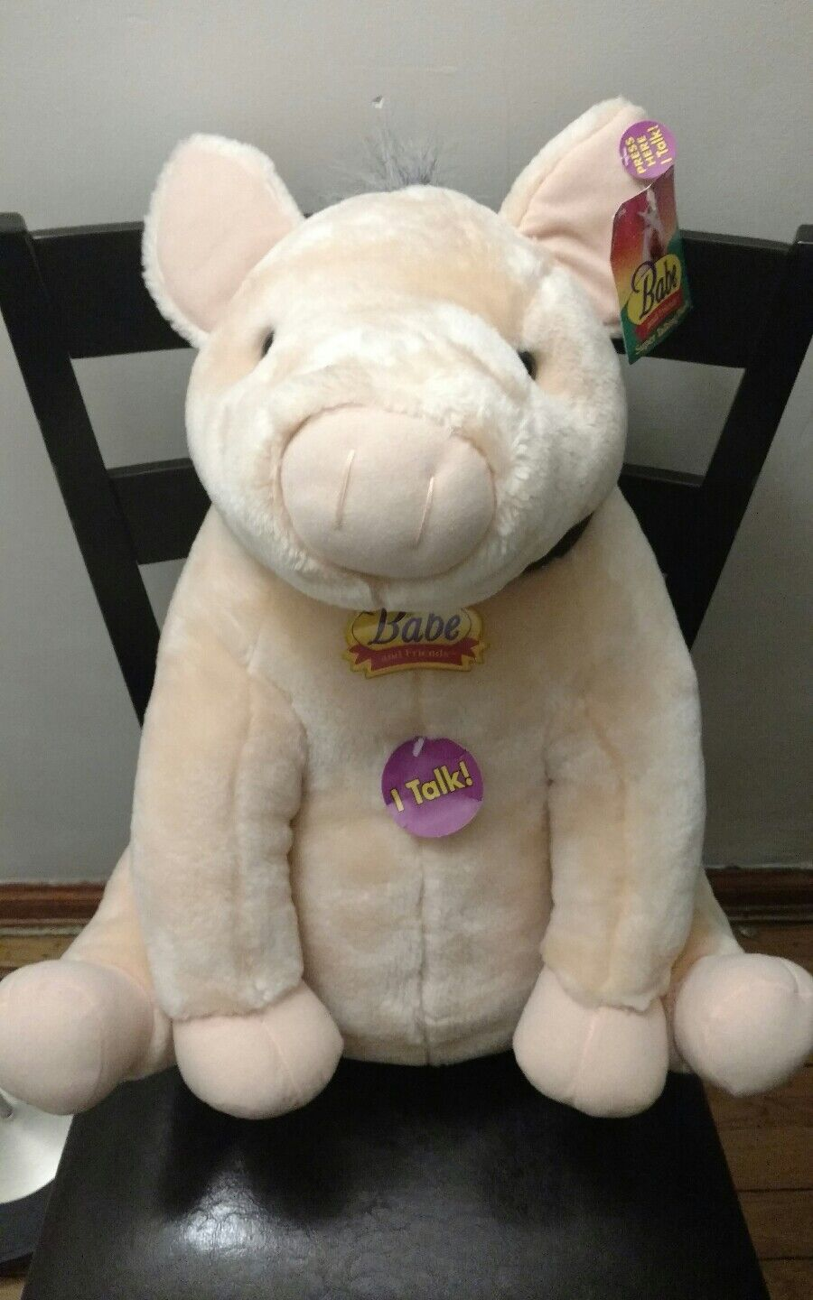20  Babe and Friends Pigs Talking Talks Plush Electronic Equity Stuffed Animal
