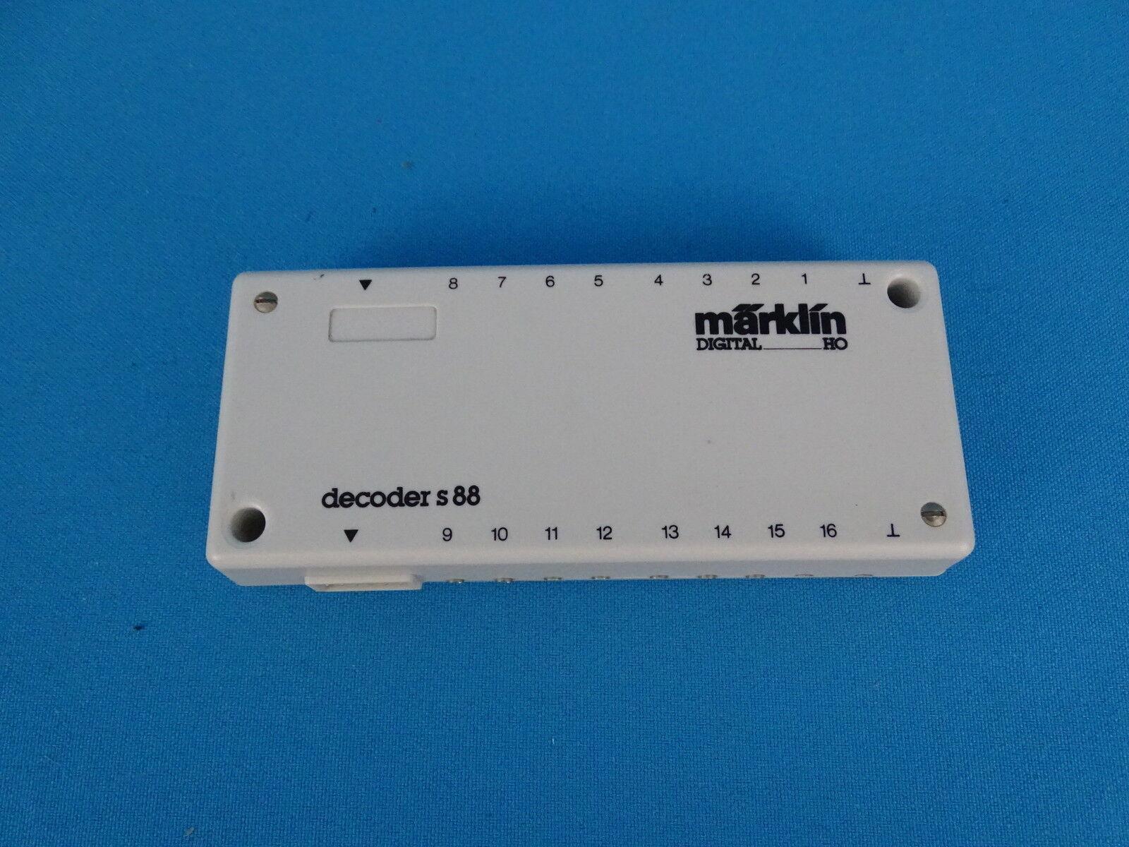 Marklin 6088 Decoder S 88 SPARE   Digital