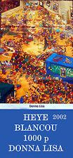 Rare HEYE BLANCOU DONNA LISA 1000 pcs jigsaw puzzle&poster no 26133