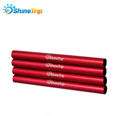 4pcs Φ9mm*130mm Alu Alloy Spare Repaired Tube for 7.9mm//8.5mm DIA Tent Pole