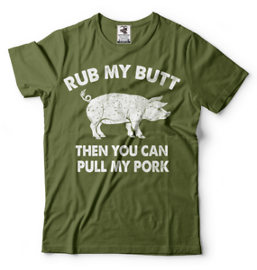Funny-Pork-Bacon-Tee-shirt-Mens-Funny-Food-Tee-Shirt-Birthday-Gift-Shirt