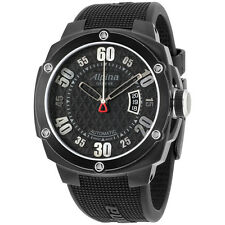 Alpina Adventure Extreme Black Dial Silicone Strap Men's Watch AL525BB5FBAE6