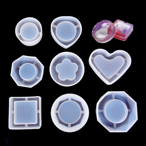 Silicone Mold Ashtray Epoxy Resin DIY Jewelry Making Moulds Handmade Craft Too^P