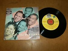 THE PLATTERS  - EP FRENCH 14182  / LISTEN - DOO WOP
