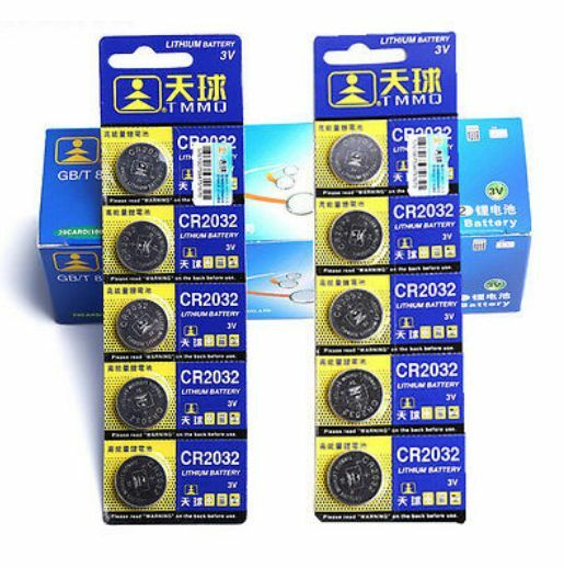 5PCS for Watch Toys Remote CR2032 DL2032 LM2032 3V Button Cell Coin Battery HS