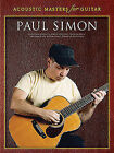 Acoustic Masters for Guitar by Paul Simon (Paperback, 2003)