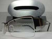 Men Women Contemporary Reading Eye Glasses Readers Silver Frame 1.25 1.75 2.25