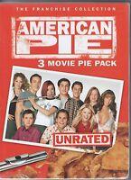 American Pie + American Pie 2 + American Wedding 3 Dvd Box Set