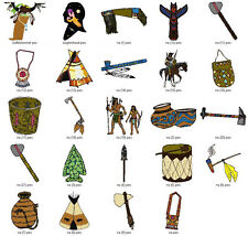 NATIVE AMERICAN COLL #1 - LD MACHINE EMBROIDERY DESIGNS