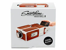 Smartphone Projector V2.0 / DIY Mobile Phone Portable Cinema for Smart Phone