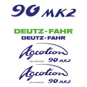 Details About Deutz Fahr Agrotron 90 Mk2 Tractor Decal Aufkleber Sticker Set