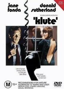 KLUTE-DVD-R4-Donald-Sutherland-Jane-Fonda-Like-New-Free-Shipping