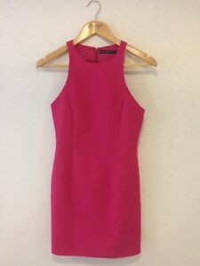 f2923f6e Zara hot pink shift dress in size XS. Unworn and in perfect ...