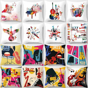 Am-Music-Piano-Square-Throw-Pillow-Case-Cushion-Cover-Home-Sofa-Car-Decor-Intri