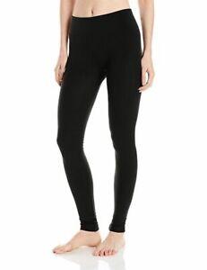 HUE-Brushed-Fleece-Lined-Seamless-Leggings-Black