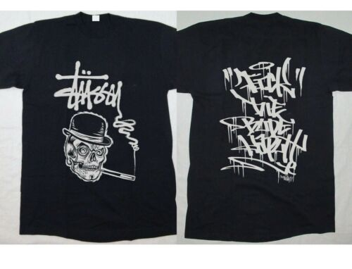 New Stussy X calaveras limited edition T Shirt