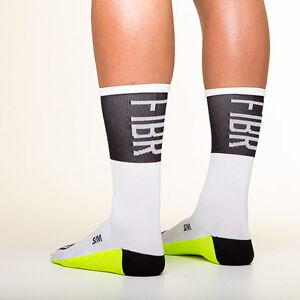 Fibr Identity White cycling socks Copenhagen made in italy