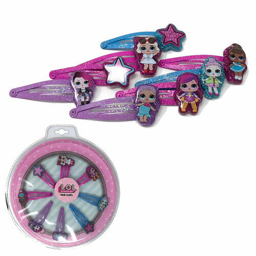 Children/'s LOL surprise accessoires sac à main Bracelet Clips Cheveux Bijoux Toy Set