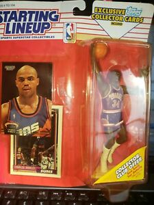 NIB Charles Barkley NBA Starting Lineup Figure Phoenix Suns Topps Kenner 1993