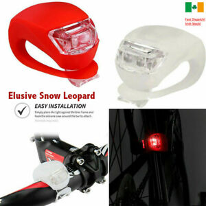 2-LED-SILICONE-MOUNTAIN-BIKE-BICYCLE-FRONT-REAR-LIGHTS-SET-PUSH-CYCLE-LIGHT-CLIP