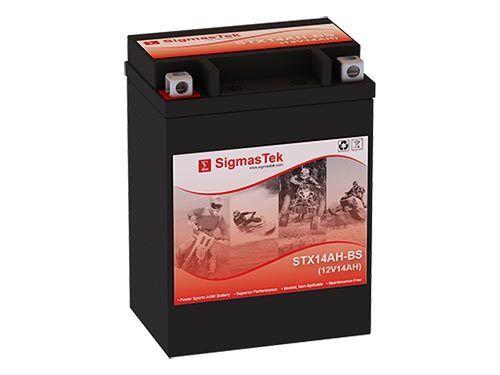Scrambler 400 maint free battery
