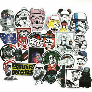 25-STAR-WARS-Skateboard-Stickers-Bomb-Vinyle-Portable-bagages-decals-Dope-Sticker