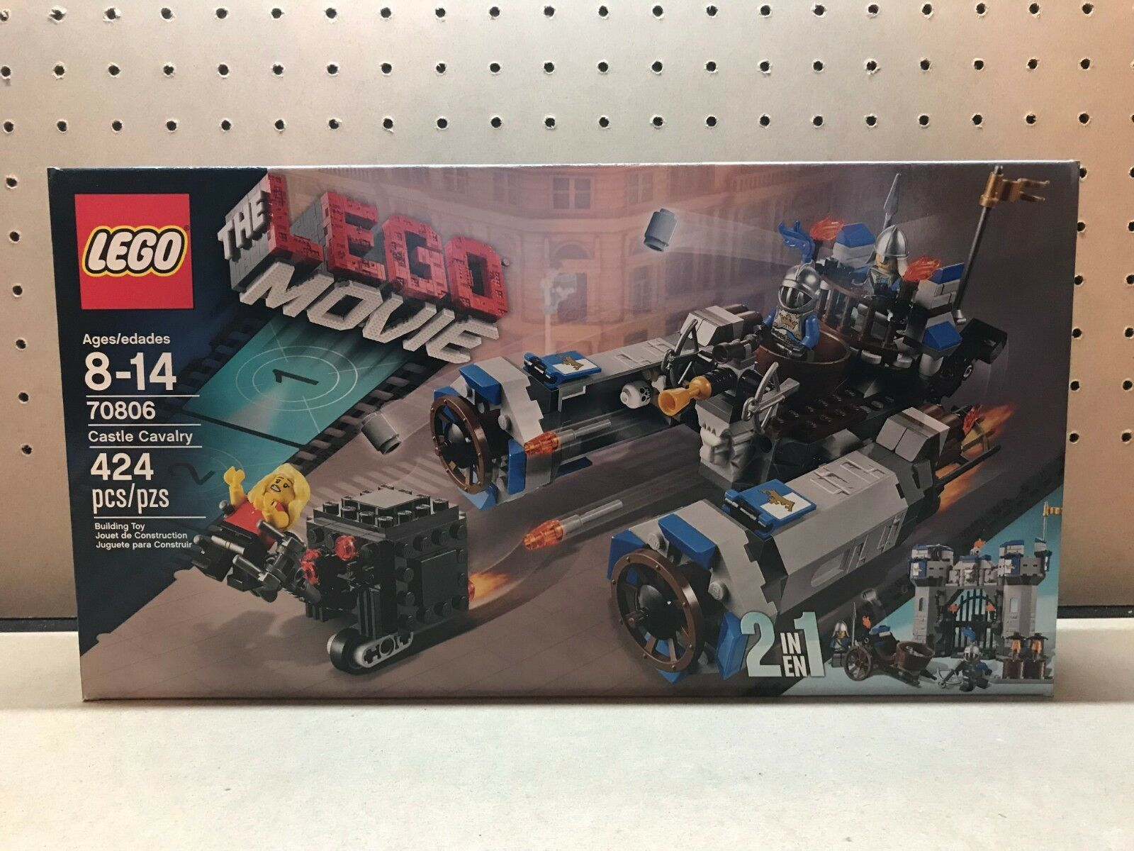 LEGO Movie 70806 Castle Cavalry Cavalry Cavalry , New, Sealed, Retired Free Shipping 38ef95