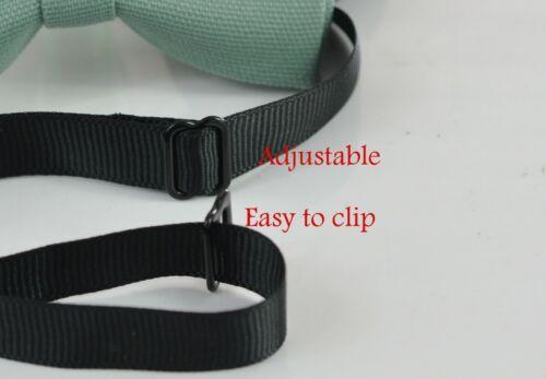 Baby Toddler Sage Green Cotton Bow tie for Men Adult Teenge Boy Kids