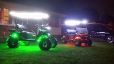 14pc LED Wireless Remote Control Lights Kit For EZGO Harley Davidson Golf Carts
