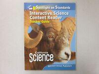 California Science Grade 5 Interactive Science Content Reader Teacher 015365371x