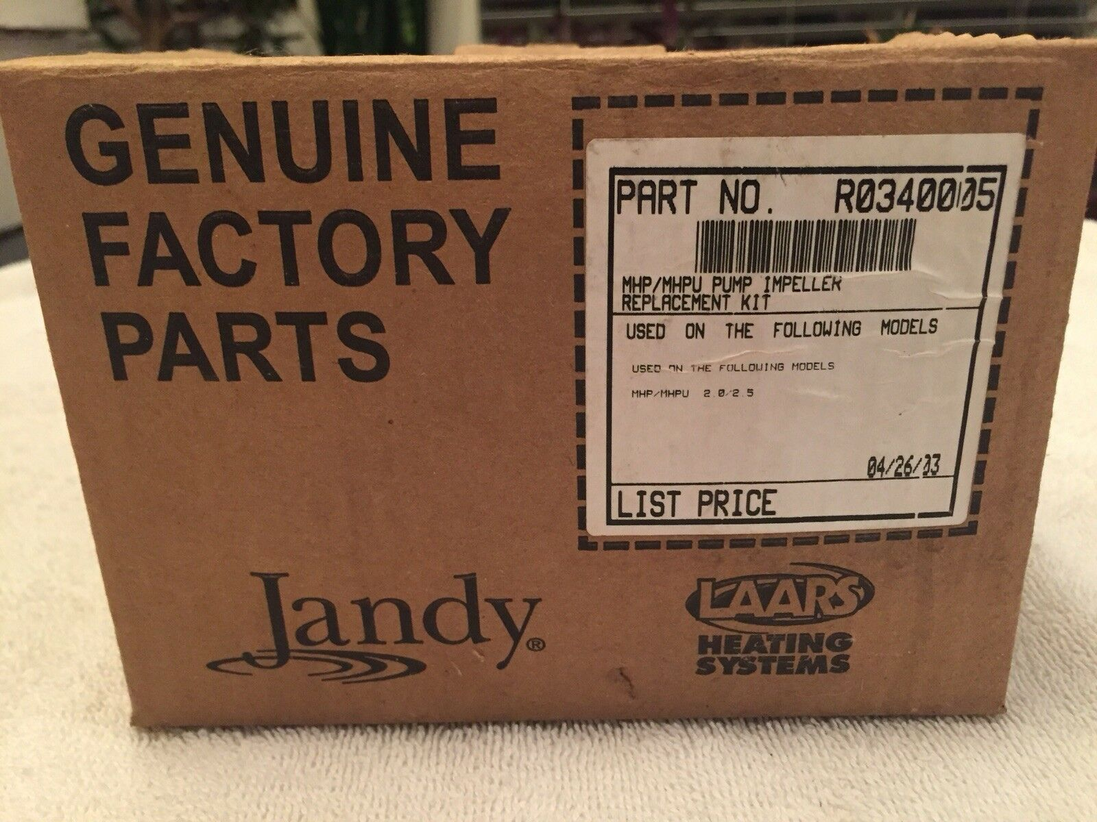 JANDY MHP-MHPU PUMP IMPELLOR PART   R0340005