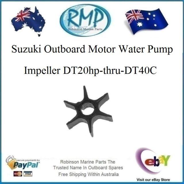 Brand New Suzuki Outboard Motor Water Pump Impeller DT20hp-DT40C # R 17461-96301