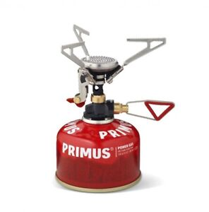 Primus Réchaud microntrail Piezo Allumage Piézo cuisson Vanne gaskartuschen Ultra  </span>