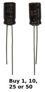 330uF 10V Electronic Electrolytic Round Capacitor 40+105 Celsius