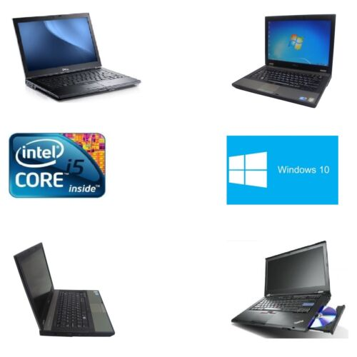 CHEAP LAPTOP Core i5 Series WINDOWS 10 FAST AND POWERFUL OFFICE HOME STUDENT