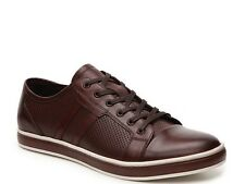 $138.00 Kenneth Cole Men Brand-Age Sneaker, Brown Leather, Size 9.5