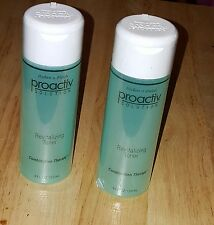 LOT OF 2 ~ 4 OZ PROACTIVE SOLUTION REVITALIZING TONER 8 OZ 120 DAY SUPPLY