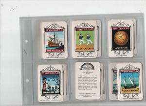 trade cards Whitbread maritime inn signs 1974 M full set