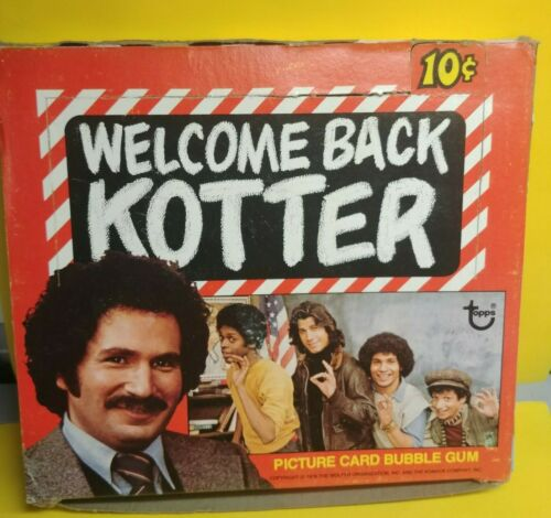 1976 TOPPS Bienvenue Kotter Carte Full Box 36 Packs Original Stock Shrink Wrap